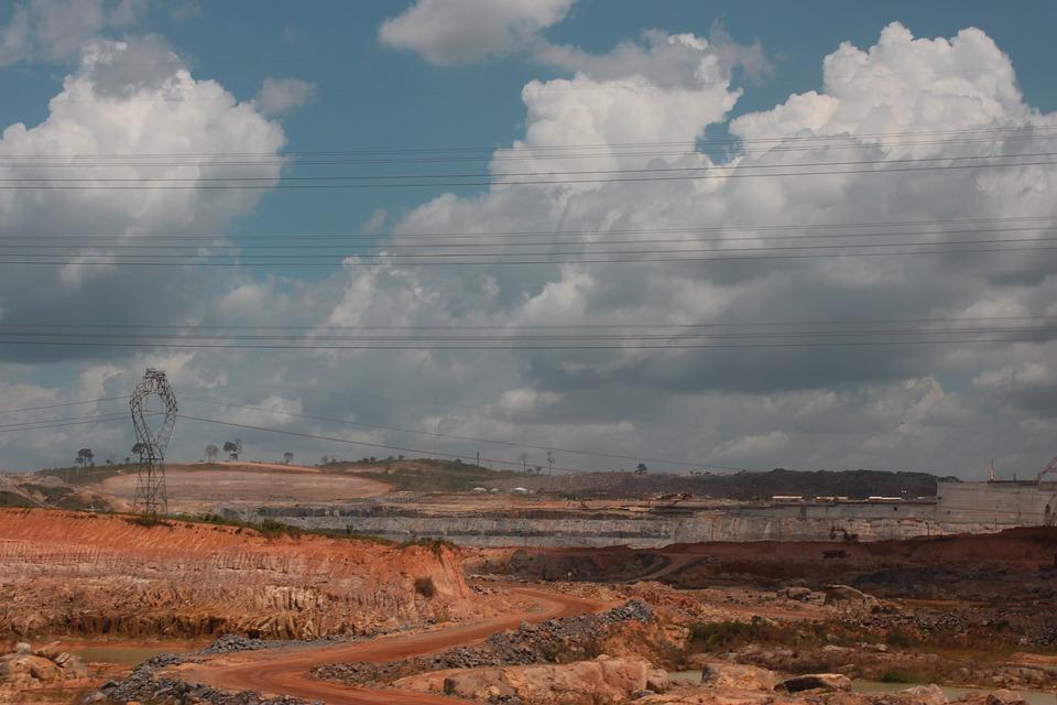 Belo Monte-Staudamm Im Bau, Abs, Amazonas