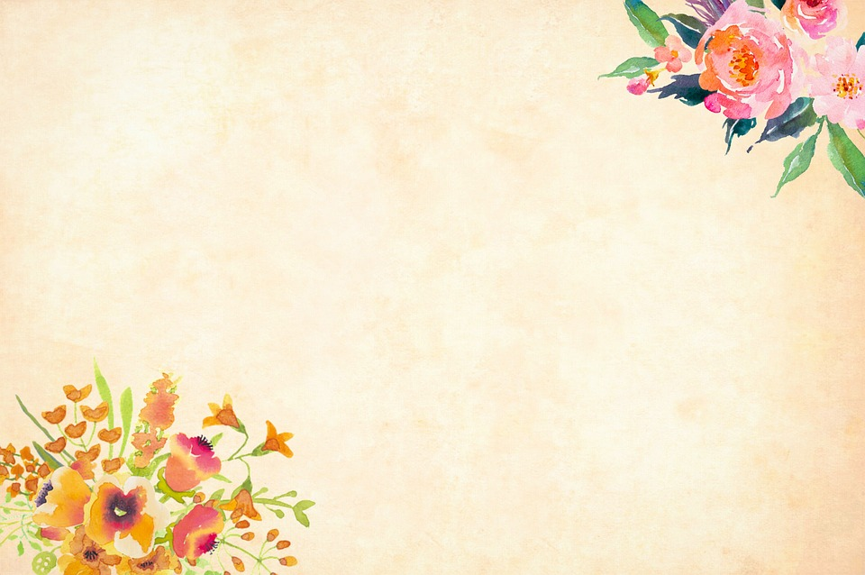 Flower Background Watercolor 183 Free Image On Pixabay
