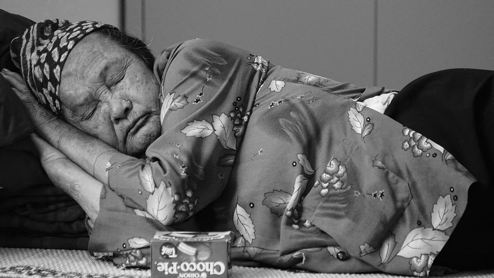 old mab white girl black sleep