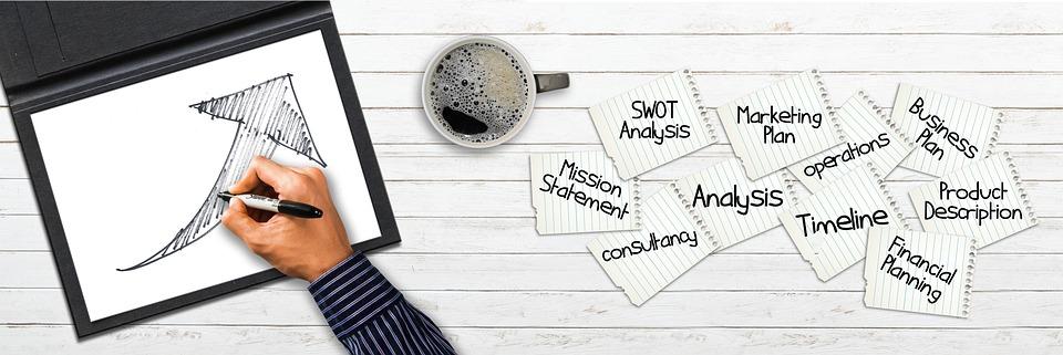 Company, Drawing, Pen, Paper, Arrow, Success, Sketch