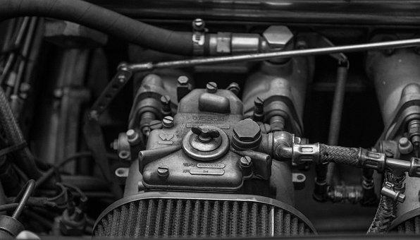 自動, モーター, キャブレター, 車のエンジン, 業界, 車両, 力学, 旧車