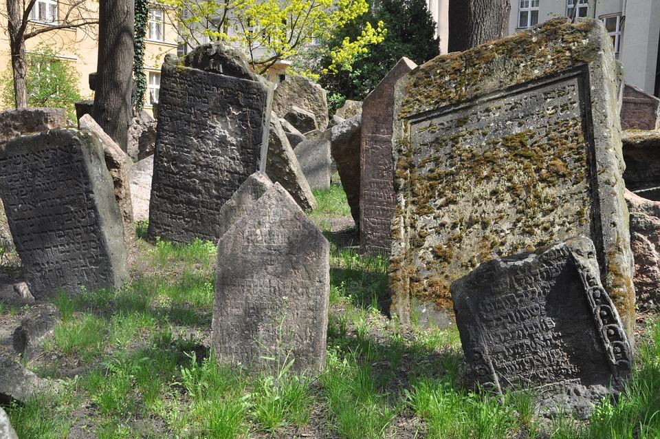 jødiske kirkegård prag