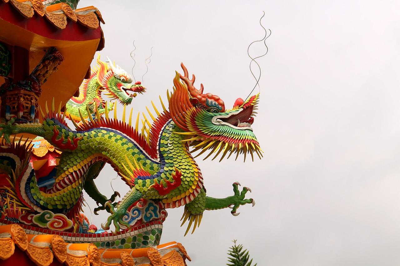 Картинки китая дракон