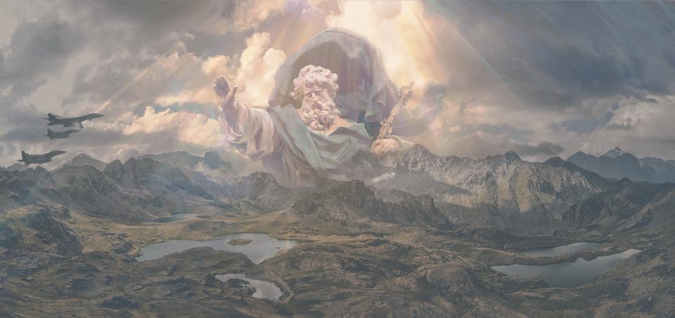 God, De Heer, Oorlog, Harmonie, Verschijning