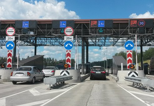Russia, Toll Road, Toll Highway, Car