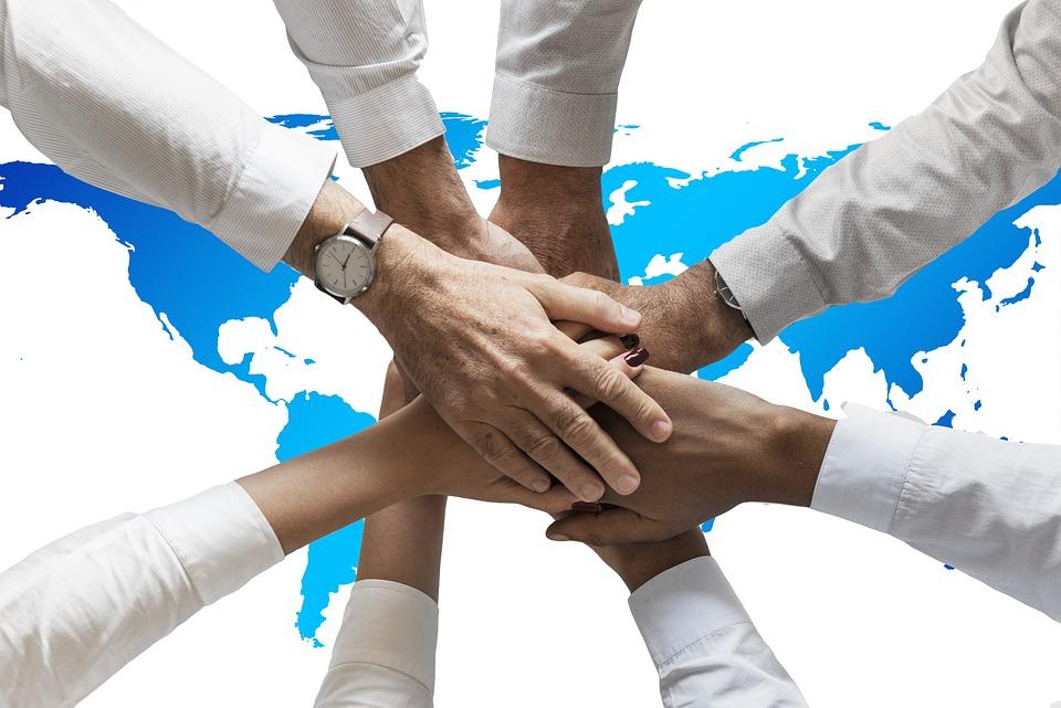 Mãos, Amizade, Juntos, Humanos, Continentes, Mundo