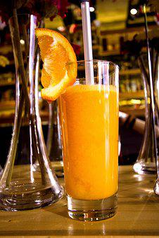 Içki, Cam, Meyve, Orange, Suyu, Kokteyl