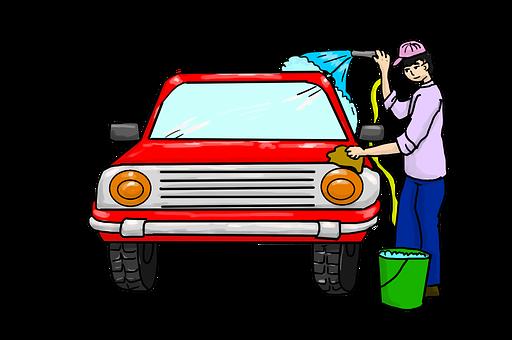 車の洗浄, 洗濯, 車両, クリーニング, 洗車サービス
