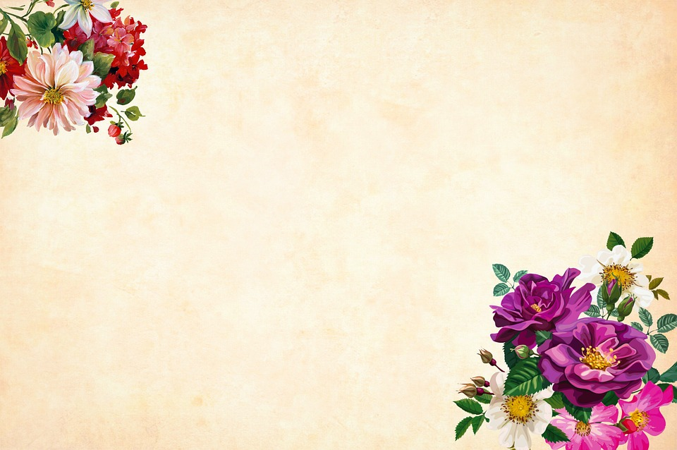 Flower Background Watercolor · Free image on Pixabay