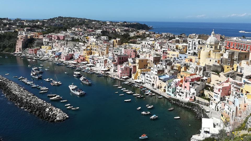 Procida, Corricella, The City Of The Sea