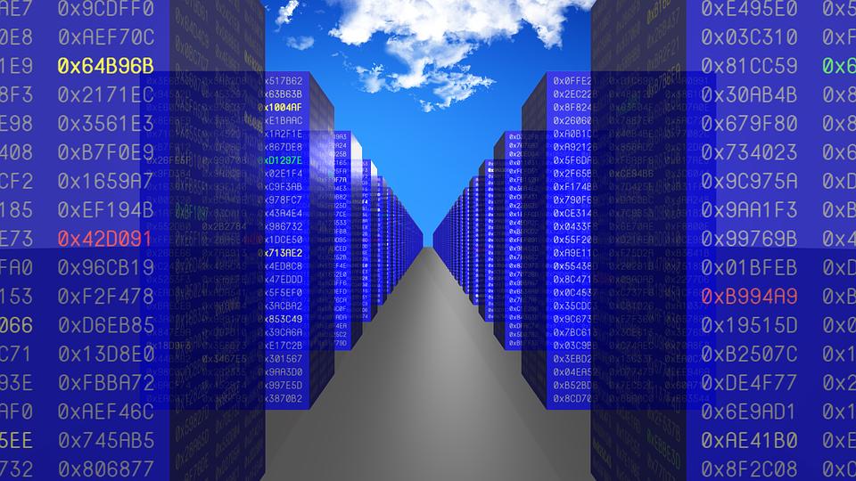 Nube, De Datos, Hex, Equipo, Tecnología, Internet, Red