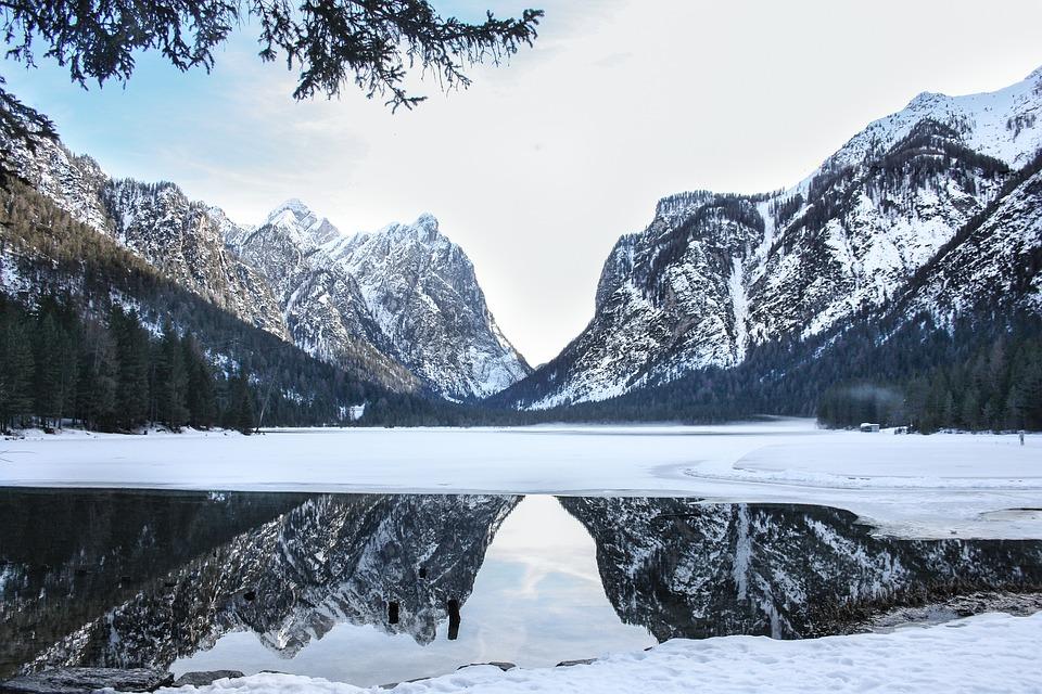 Neve, Montagna, Inverno, Natura, Ghiaccio, Ghiacciato
