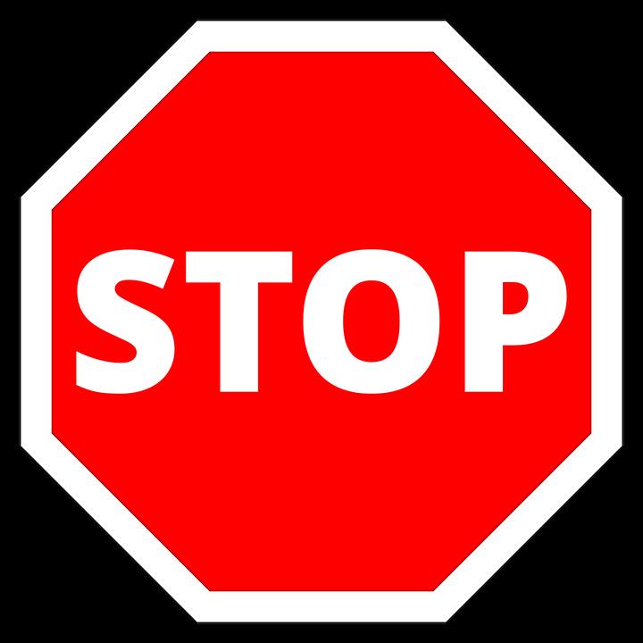 停止 一時停止の標識 交通標識 -...
