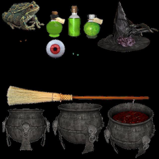 Free Image on Pixabay - Witch, Halloween, Hat, Broom, Black
