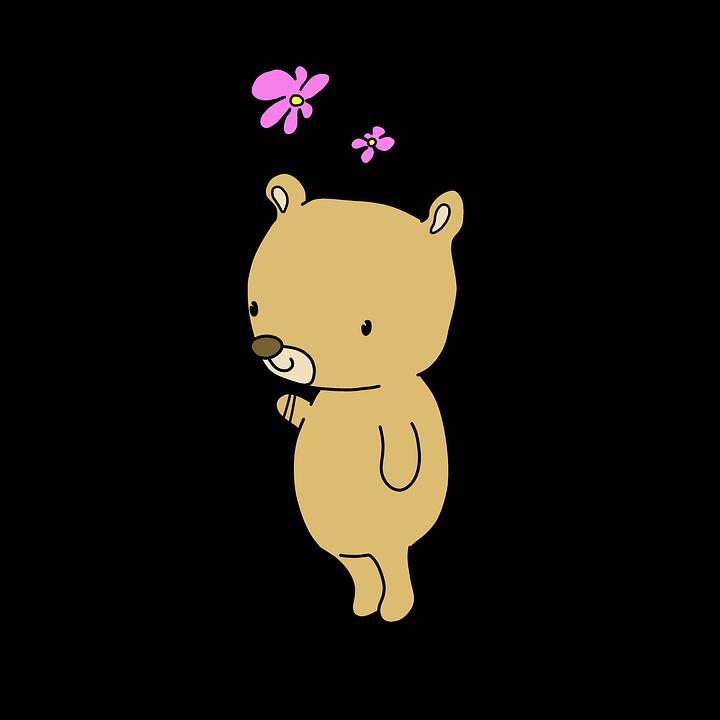 Orso simpatico teddy cartone · immagini gratis su pixabay