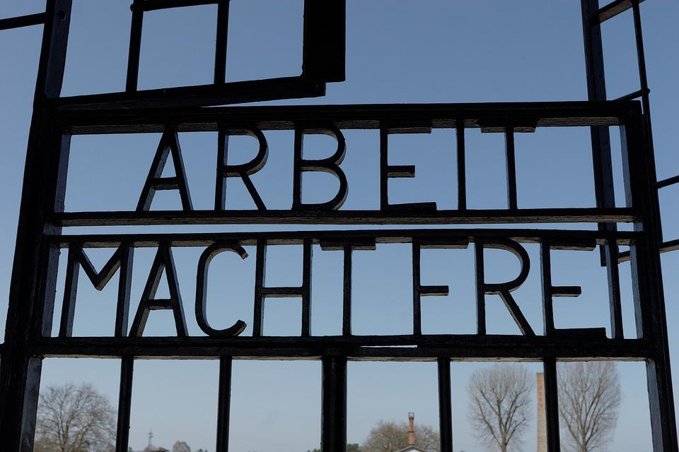 Concentration camp gates - Sachsenhausen