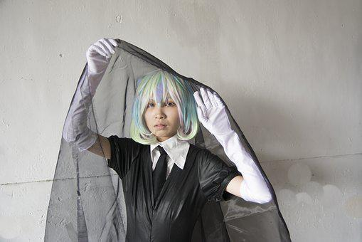 Young, Portrait, Cosplay, Costume