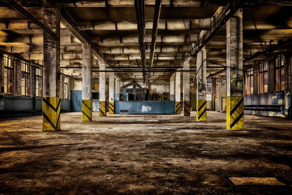 Fabrikhalle, ฮอลล์, โรงงาน, โรงงานเว็บไซต์