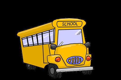 Autobus Szkolny, Autobusem, Żółty