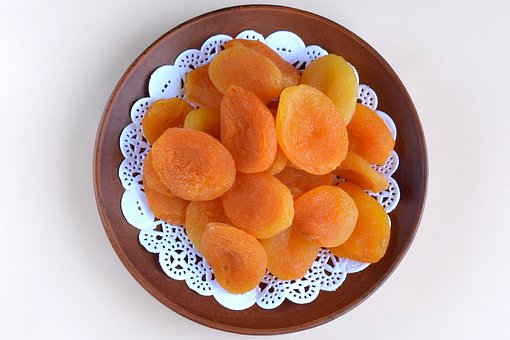 Dried Apricots, Apricot, Dried, Food