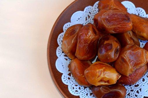 Dates, Dried, Food, Dried Fruits, Sweet