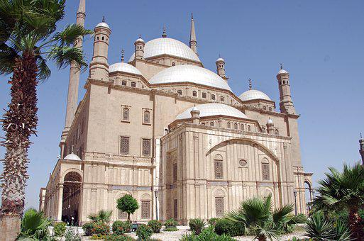 Egypt, Cairo, Mosque, Alabaster Mosque