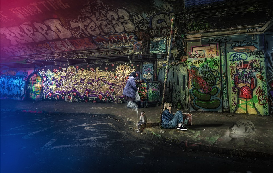 Arquitectura, Ciudad, Urbana, Graffiti, Pintura