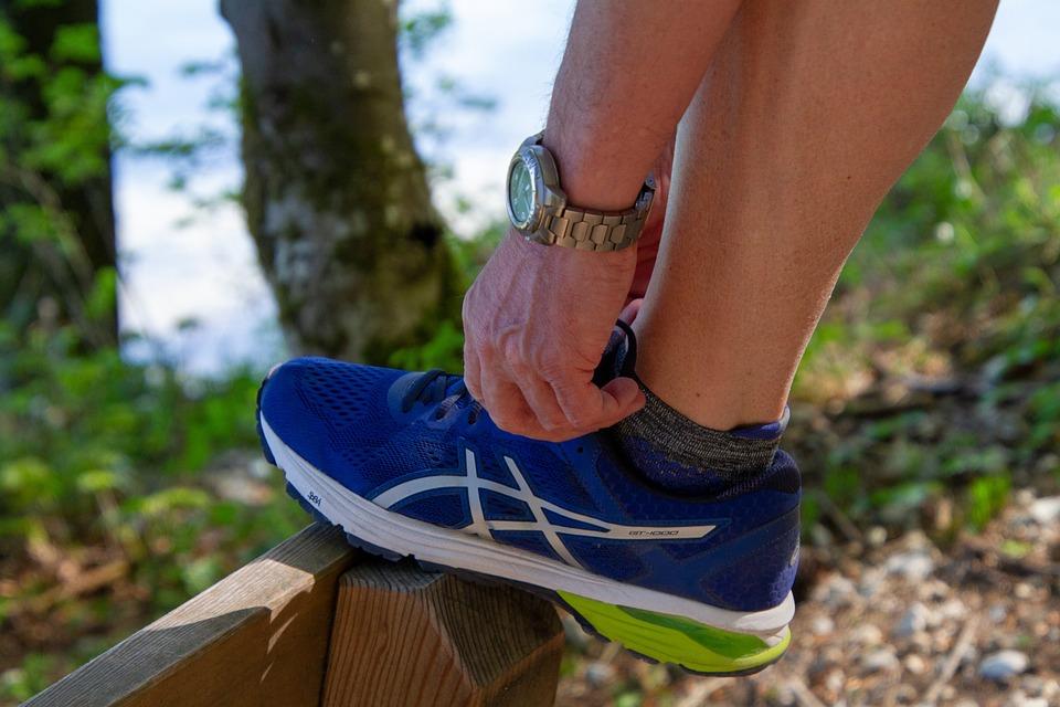 Ropa para maratón: zapatillas para maratón.