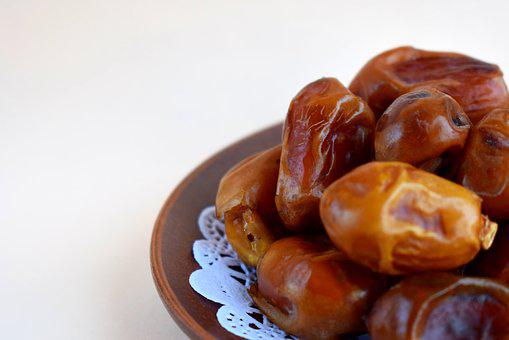 Dates, Dried, Food, Dried Fruits, Sweet