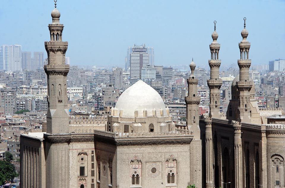 Kair, Architektura, Minaret, Podróże, Religia, Kopuła