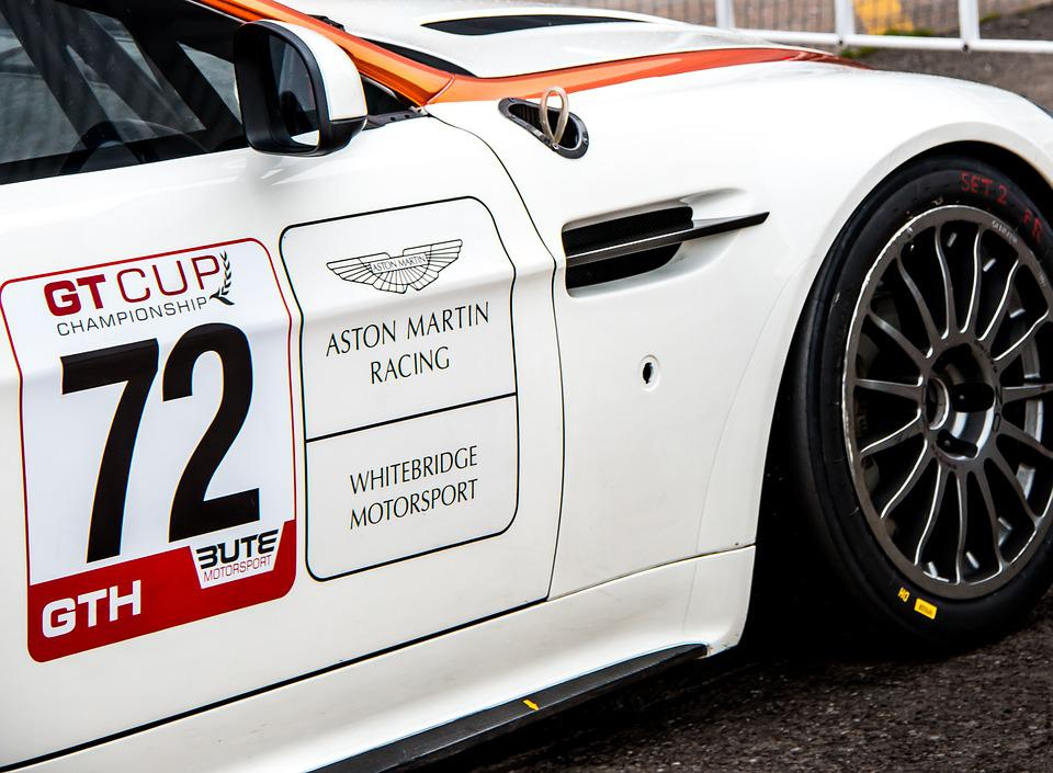 Aston Marin V Vantage Race Car Free Photo On Pixabay - Aston martin marin