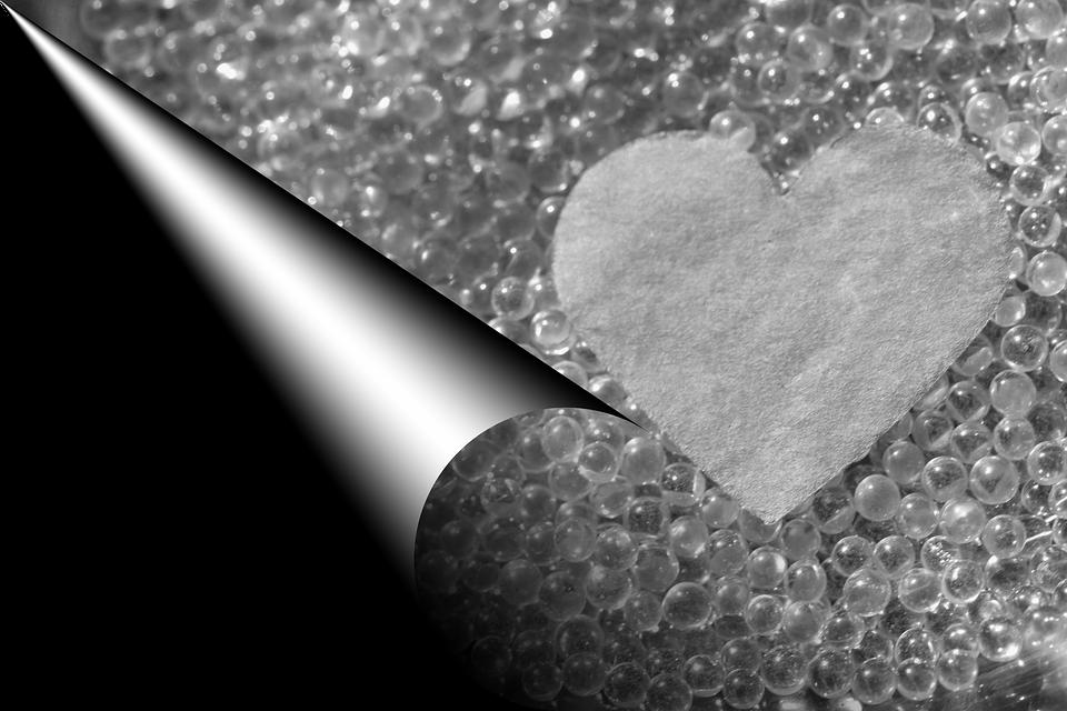 Coeur Amour Romantique Noir Et Photo Gratuite Sur Pixabay