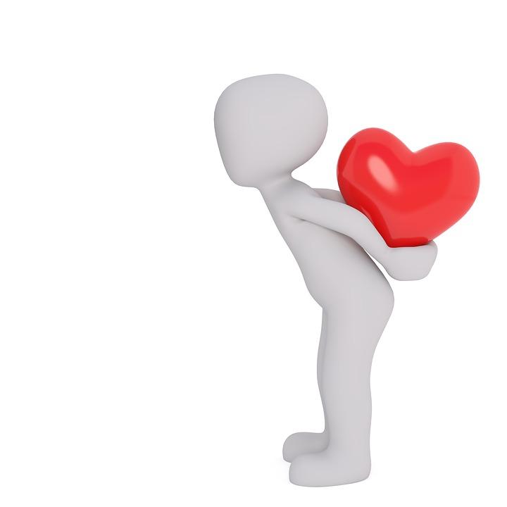 Valentinstag, Liebe, Herz, Verliebt, Ballon, Herzen