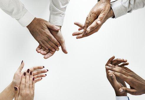 Mão, Trabalho Em Equipe, Cooperação