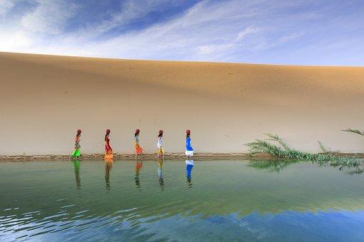 Sand Dunes, Sand, Outdoor