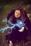 czarownik, mag, magiczna kula