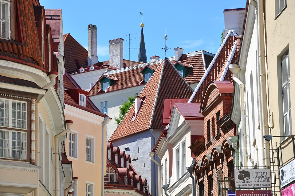 Tallinn, Architecture, Home, Town, City