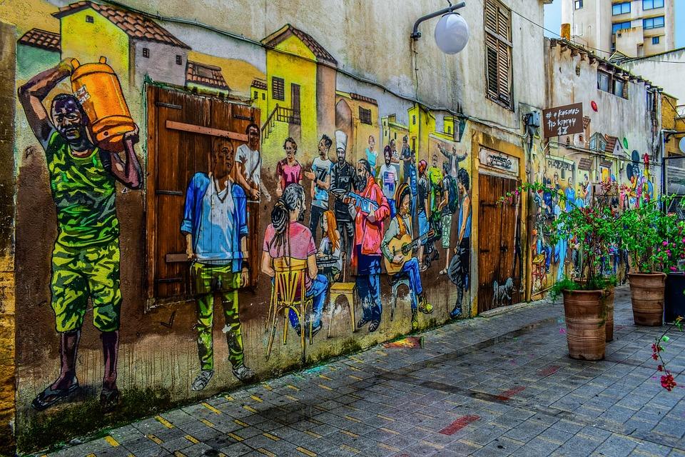 Street, City, Urban, Tourism, Graffiti, Travel