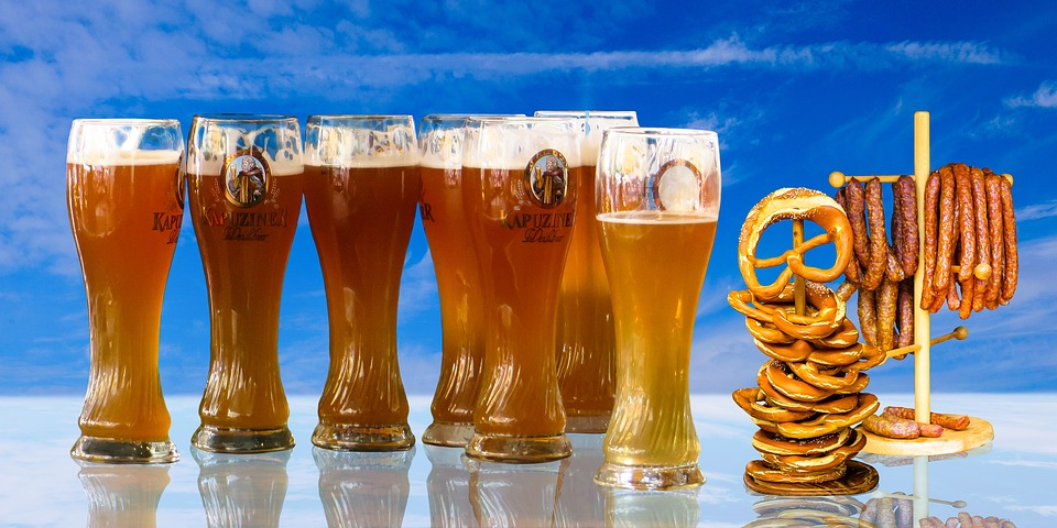 Еда, Напиток, Пиво, Пивной Стакан, Пшеничное Пиво