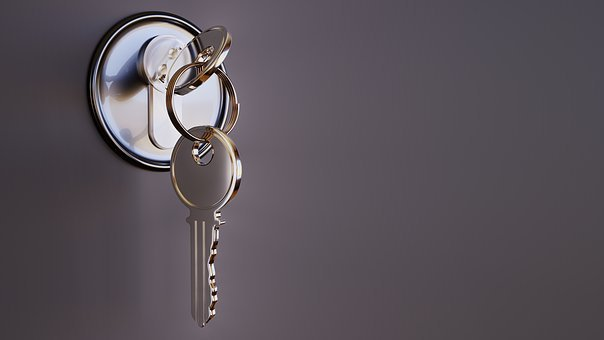 Key, Castle, Security, Metal, 3D, Closed