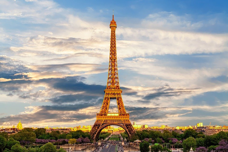 Tour Eiffel, Paris, France, Voyage, Tour