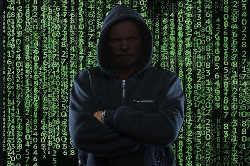 Cyber Security, Hacker, Code, Fraud