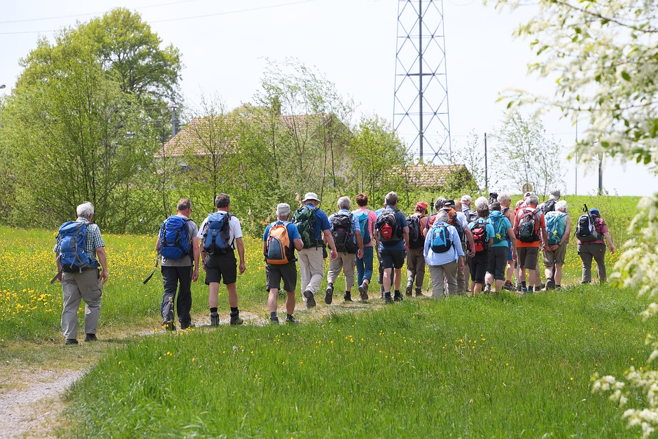 Hiking clubs for seniors