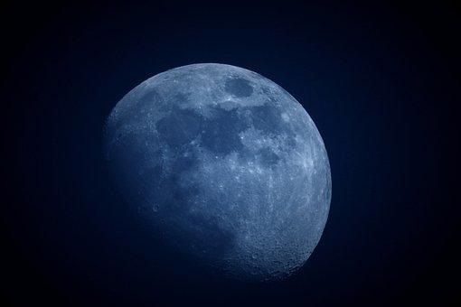 Moon, Astronomy, Space