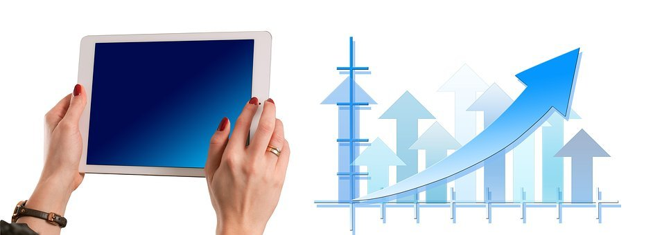 統計情報, 矢印, トレンド, ビジネス, 会社, コンセプト, 共同の努力