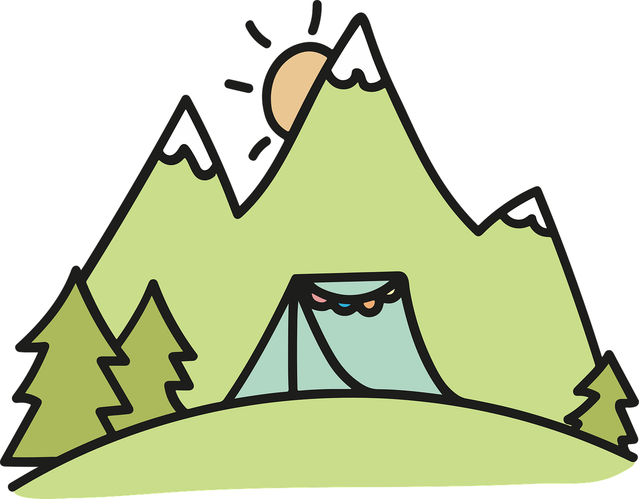 Camping Tent Fir - Free vector graphic on Pixabay