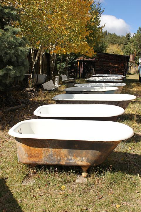 udendørs badekar