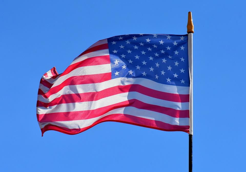Drapeau, Amérique, États Unis, Etats Unis