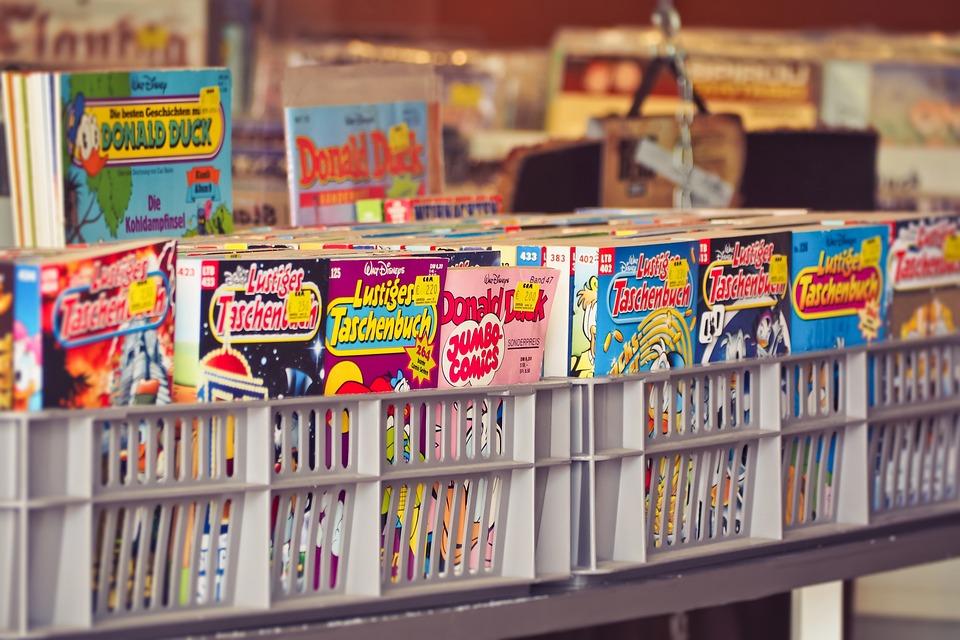 Comics, Gebraucht, Gebrauchte Waren, Gebrauchte Bücher