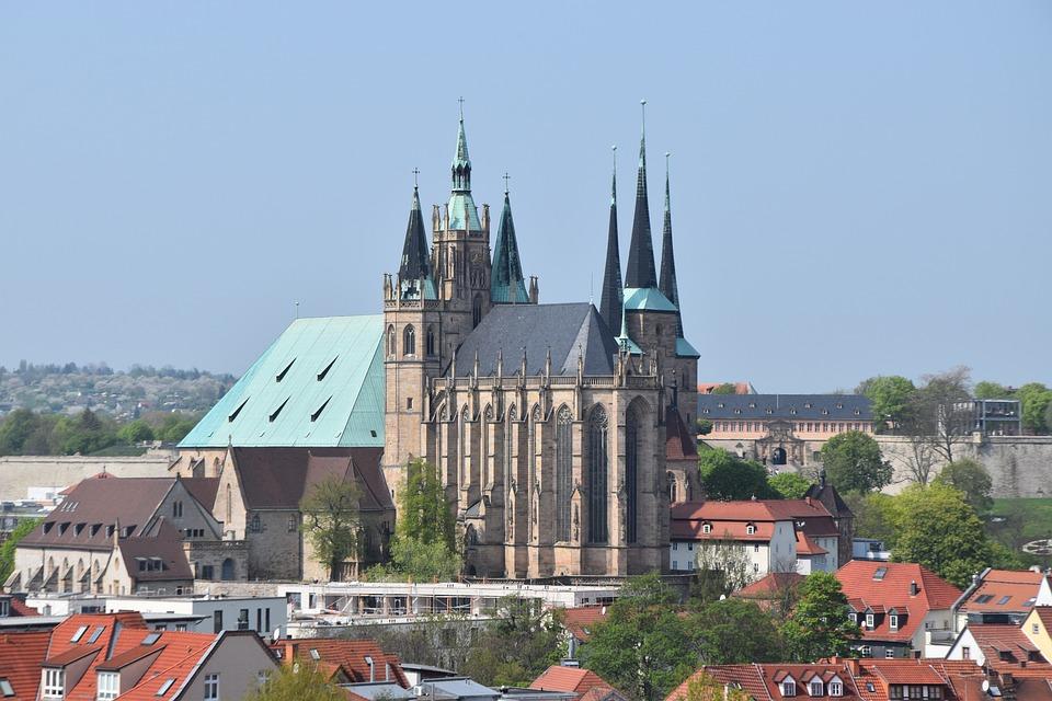 Architektur Erfurt erfurt dom architektur kostenloses foto auf pixabay